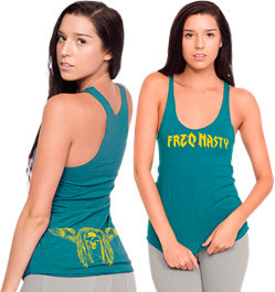 Ladies Tank - Evergreen | View Larger with Sizing Chart
