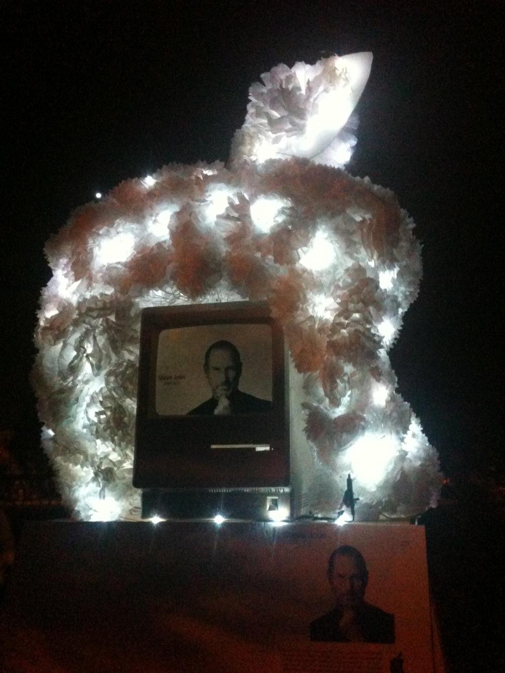 Steve Jobs altar