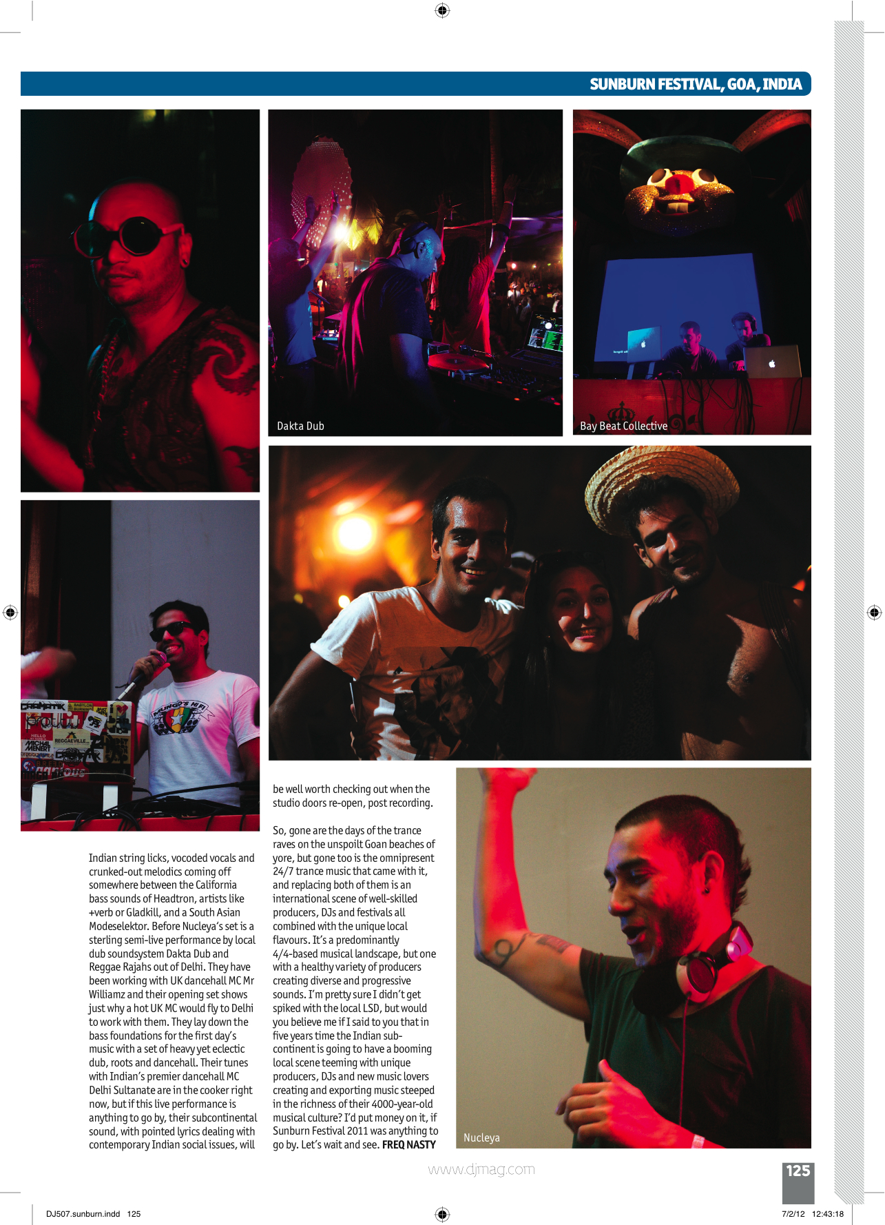 Goa Bass - DJ Magazine - FreQ Nasty